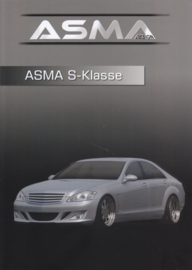 ASMA S-Klasse/CLS-Shark II tuning, 4 pages, A4-size, about 1998, Germany