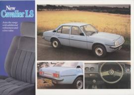 Cavalier LS, 2 pages + flap, English language, 7/1980
