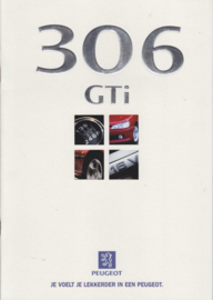 306 GTi brochure, 16 pages, A4-size, 07/1997, Dutch language