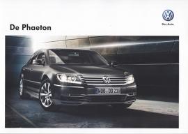 Phaeton brochure, 28 pages, A4-size, 08/2011, Dutch language