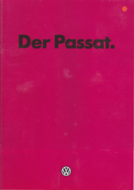 Passat brochure, 32 pages,  A4-size, German language, 8/1981