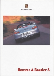 Boxster / Boxster S brochure, 96 pages, 08/2000, hard covers, German