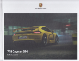 718 Cayman GT4 brochure, 88 pages, 06/2019, hard covers, English language