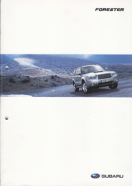 Forester brochure, 44 pages, German language, 09/2005