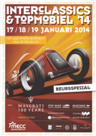 Interclassics & Topmobiel 2014 ,  A4-size, 92 pages, Dutch language