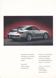 Ceramic brakes - PCCB brochure, 8 pages, 06/2002, German language