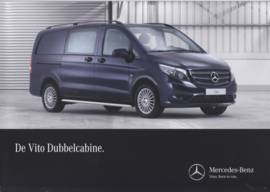 Vito double cab brochure, 6 pages, 06/2015, Dutch language