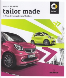 Fortwo Brabus versions,  28 pages + 4 page pricelist, 08/2015, German language