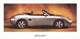 Boxster foldcard, about 1997, WVK 146 200