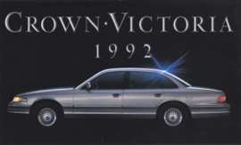 Crown Victoria,  4 pages, English language, 1992