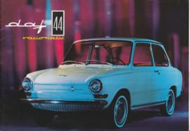44 Variomatic Sedan brochure, 16 pages, 09/66, Dutch language