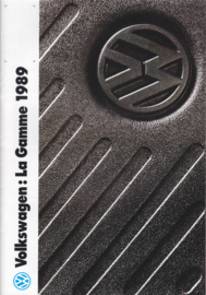 VW/Audi Program brochure, 24 pages,  A4-size, French language, 1989
