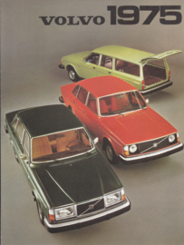 program 242/244/245/264 brochure, 4 pages, Dutch language, 08/1974