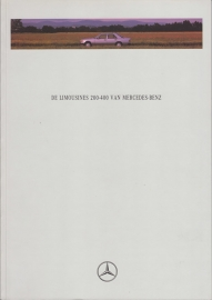 200-400 Limousines brochure. 60 pages, 10/1992, Dutch language
