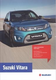 Vitara brochure, 28 pages, #80315, 2015, Dutch language