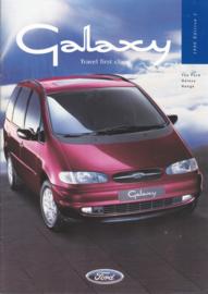 Galaxie MPV brochure, 38 pages, 3/1996, English language, UK