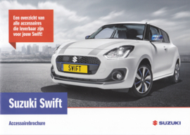 Swift accessories brochure, 20 pages, #40317, 03/2017, Dutch language
