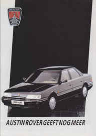 Austin/Rover all models, 24 pages, A4-size, 1987, Dutch language