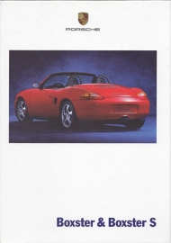 Boxster / Boxster S brochure, 96 pages, 08/1999, hard covers, German %