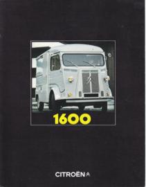 H 1600 Vans brochure, 6 pages, 02/1970, Dutch language