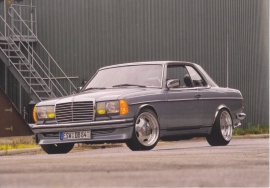 Coupe, A6-size postcard, Mercedes-Fan World # 05/2012, German