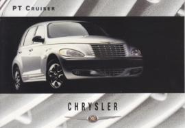 PT Cruiser, A6-size postcard, about 2000, issue Chrysler UK, English language