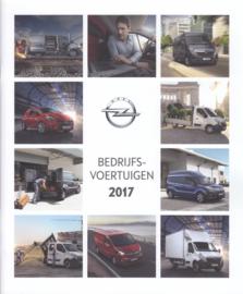 Commercial range brochure, 32 pages, 2017, Dutch language (Belgium)