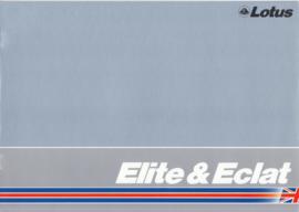 Elite & Eclat brochure, 10 pages, DIN-A4 size, c1982, English language