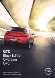 GTC Black Edition/OPC brochure, 4 pages, 07/2015, Belgium (Dutch)
