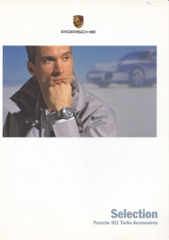Selection 911 Turbo brochure, 8 pages, 04/2000, German language