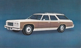 Caprice Estate Wagon,  US postcard, standard size, 1975