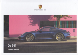 911 Carrera brochure, 112 pages, 09/2019, hard covers, Dutch