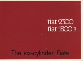 1800 B & 2300 Saloon & Station Wagon brochure, 18 pages, # 1776, English language