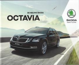 Octavia brochure, 60 pages, Dutch language, 2017