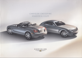 Crossfire Coupe & Roadster brochure, 20 pages, 06/2004, Dutch language