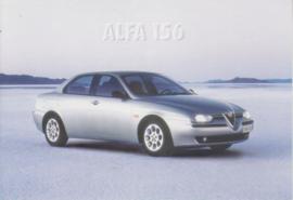 156 Sedan postcard, DIN A6-size, about 1998, Spanish freecard