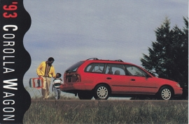 Corolla Wagon, US postcard, 1993, # 31052-93