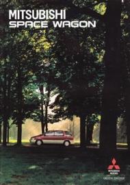 Space Wagon brochure, 20 pages, 11/1993, Dutch language