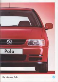 Polo Hatchback brochure, A4-size, 52 pages, Dutch language, 08/1994