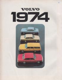 Program brochure, 8 pages, Dutch language, 1974
