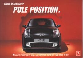 C2, PromoCard Italy, A6-size, # 3987, 2003, Italian