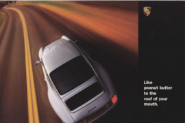 911 Carrera Coupe, large advertising card, US market, 1995, English