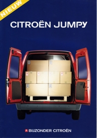 Jumpy Combi Van brochure, 8 pages, 1994, Dutch language