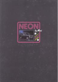 Mini 1000 Neon UK brochure, 4 pages, English language, # 4223