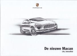 Macan introduction brochure, 52 large pages (A4), 10/2013, hard covers, Dutch