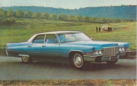 Sedan de Ville, US postcard, standard size, 1970