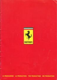 Program 'La Produzione' brochure, 24 pages, 9/1986, 4 Languages