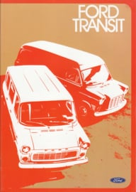 Transit Van brochure, 28 pages, 06/1973, Dutch language