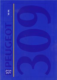 309 XS/SX  brochure, 4 pages, A4-size, 1992, Dutch language