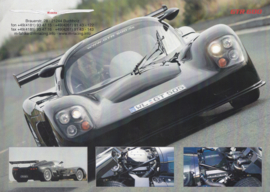 M-racing GTR 600 leaflet, 2 pages, about 2007, German language